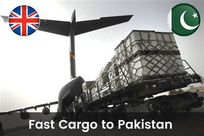 Cheap Fast Cargo to Pakistan from Shropshire