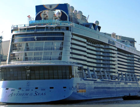 The Musical 'Anthem of the Seas' on UK Shores
