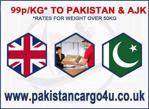 By express parcel delivery services, Pakistan Cargo 4 U is joining two nations