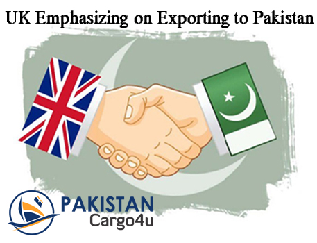 UK Emphasizing on Exporting to Pakistan